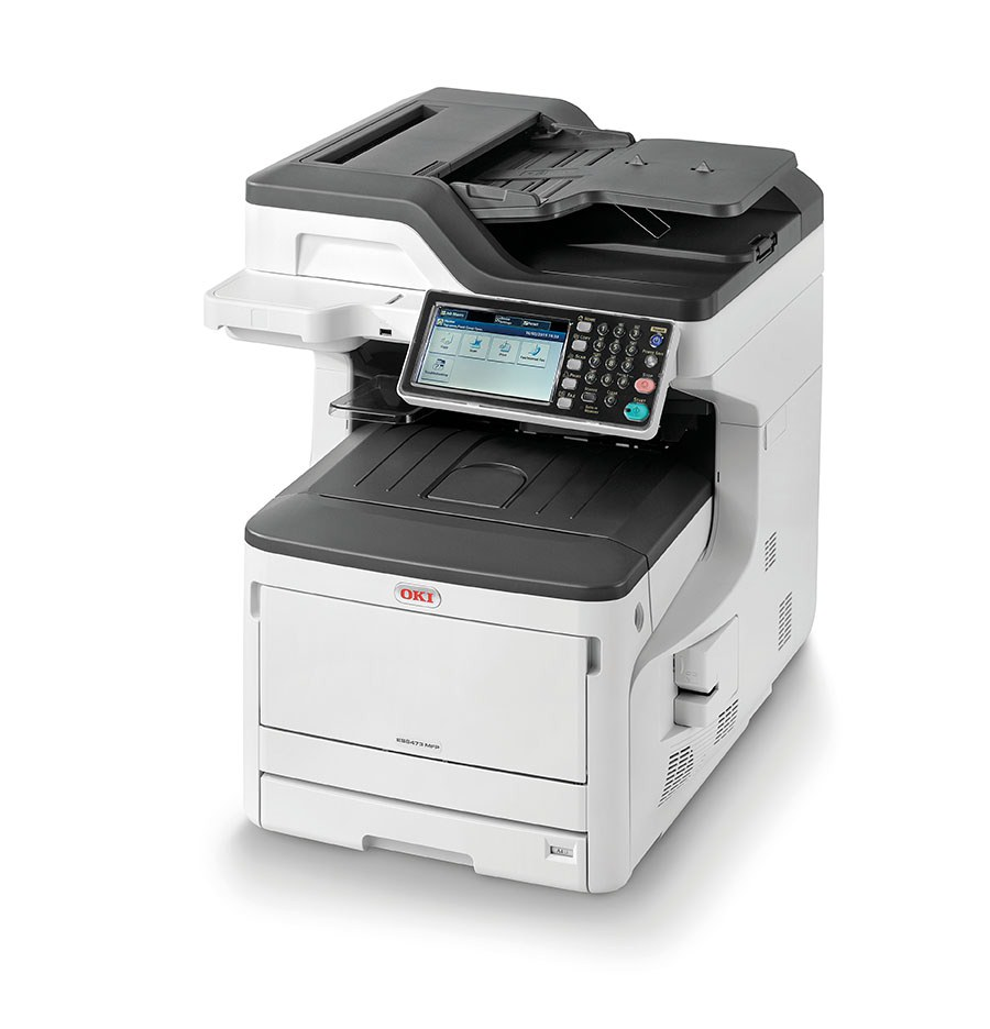 Color printing colorado springs - Oki 8473 Color Printer Mfp